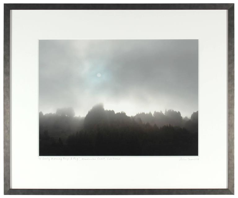 """Early Morning Sun & Fog"" Mendocino, CA 3"