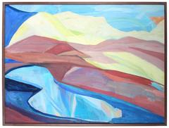 """""""The Rainbow"""" Large Abstract"""