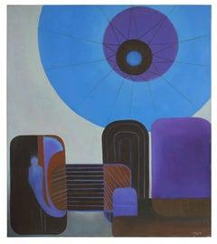 """Urban Helio"" Oil on Canvas, 2013"