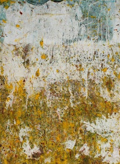 Paint Splatter Abstract in Oil, 20th Century