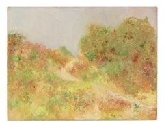 Impressionist Sand Dune Landscape, Oil Painting, Circa 1900-1930s