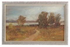 Petite Impressionist Landscape, Oil Painting, Circa 1900-1930s