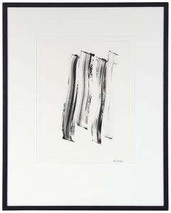 Abstract Monotype Black & White, Circa 2000s