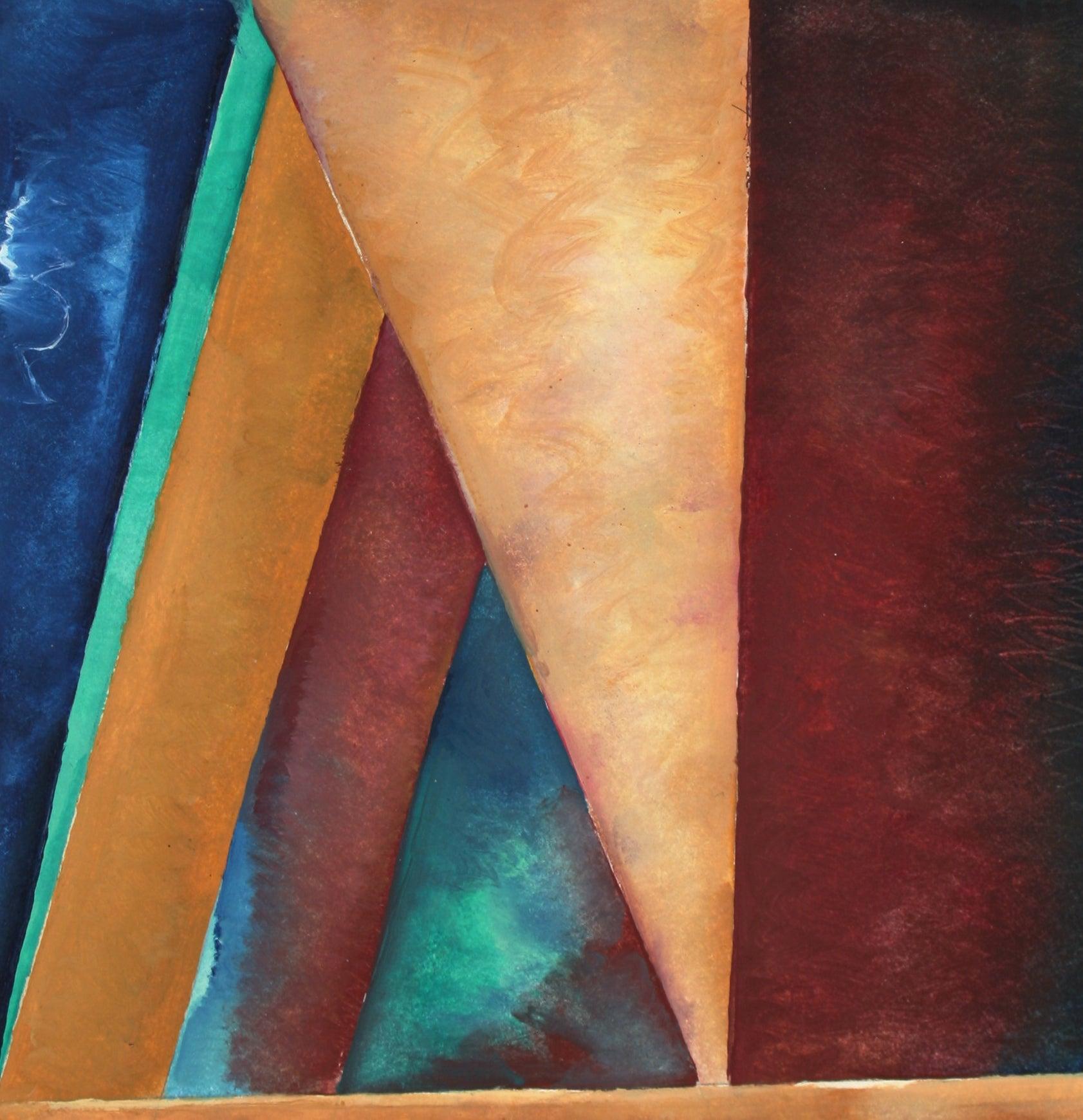 """Corner in the Studio #3"" 20th Century Oil on Paper"