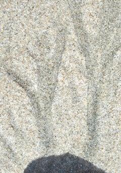 """Año Nuevo"" Abstract Sand Photograph, Mendocino, California, 2013"