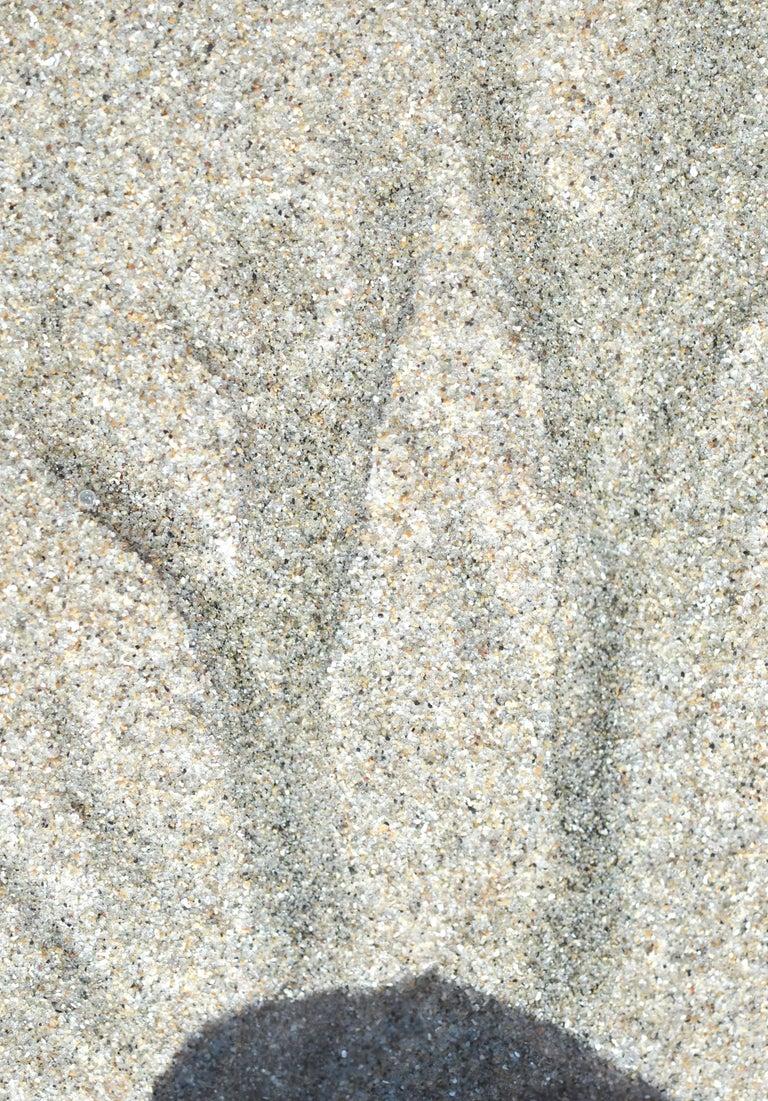 """Gaétan Caron Color Photograph - """"Año Nuevo"""" Abstract Sand Photograph, Mendocino, California, 2013"""