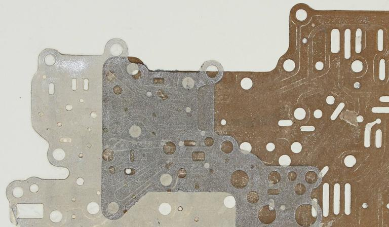 This 1974 original collograph print on paper with bronze and silver ink is by Santa Fe artist, Seymour Tubis (1919-1993). Tubis studied at the Art Students League with Hans Hofmann (1946-1949). He exhibited in Paris with praise by Georges Braque