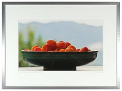 """Apricots"" Contemporary Color Still-life Photograph, Mendocino, CA"