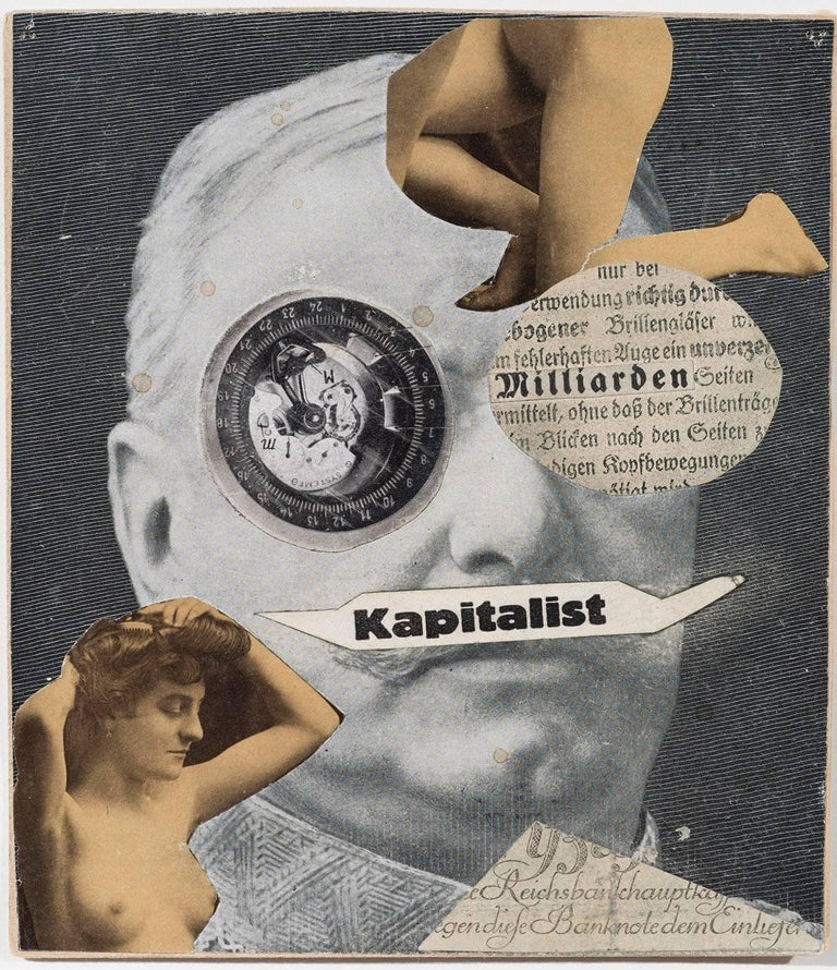 Kapitalist - Mixed Media Art by Erwin Blumenfeld