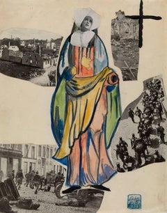 Madonna of War (Nun), Amsterdam