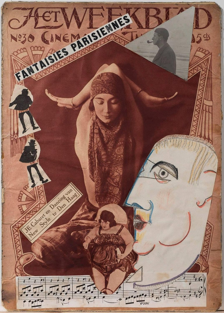 Fantaisies Parisiennes - Mixed Media Art by Erwin Blumenfeld