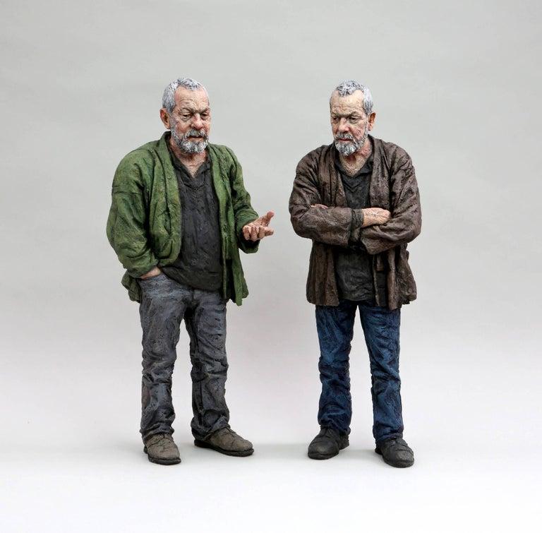 Sean Henry Figurative Sculpture - Untitled