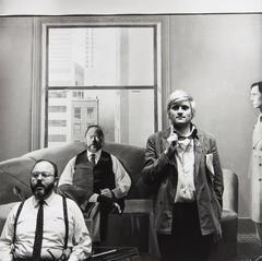 David Hockney and Henry Geldzahler