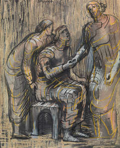 Three Female Figures