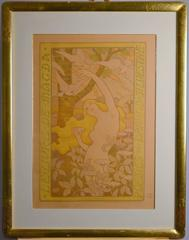 """Art Nouveau poster """"Le Livre de Magda""""  Art Nouveau poster"""