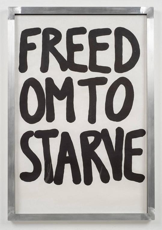 Freedom To Starve