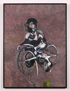 Portrait of George Dyer Riding a Bicycle (Q1B) 1966/2015