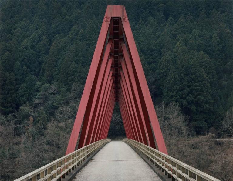 Toshio Shibata Color Photograph - Okawa Village, Koshi Prefecture (C-2135)