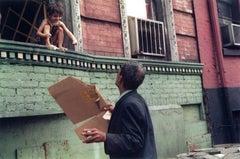 New York City (child on window sill)