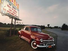 """1948 Plymouth Special Deluxe Coupe, from the series """"Dinosaurs and Dreamboats"""""""