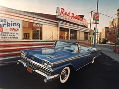1959 Ford Skyliner, Red Robin Diner, Johnson City, NY