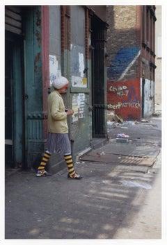 New York City (striped socks)
