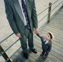 Pt. Pleasant, NJ (father and son)