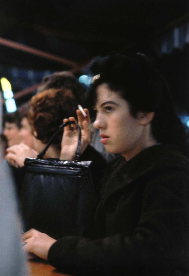 Fred Herzog Portrait Photograph - Girl with Handbag