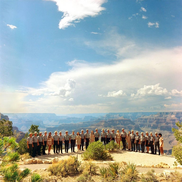 Neal Slavin Color Photograph - Grand Canyon National Park, National Park Service
