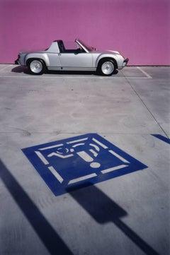 Los Angeles, CA (silver Porsche 914)