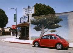 Burbank CA (red VW)