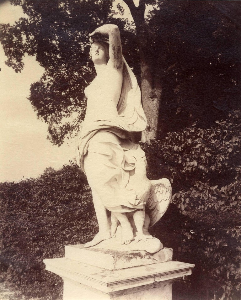 Eugene Atget Black and White Photograph - Versailles / Parc (#1097)