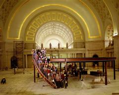Neal Slavin - Union Station and Restoration Crew, Washington, DC