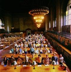 Staff of New York Public Library, Main Reading Room, New York City