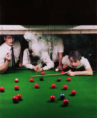 Neal Slavin - Hatton Garden Snooker Club, London, UK