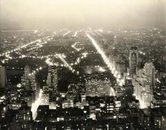 Central Park at Night from the RCA Building