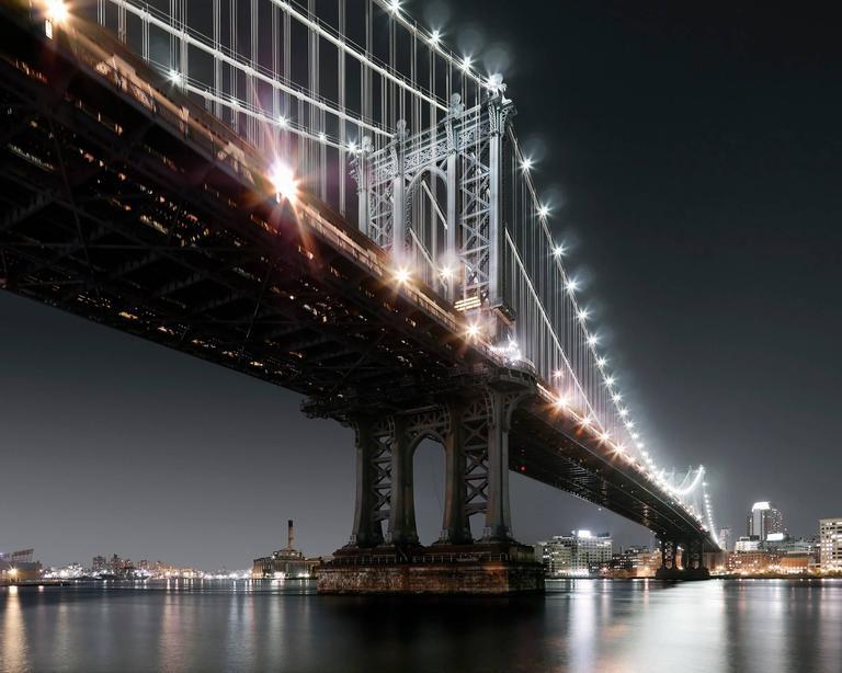 Luca Campigotto - Manhattan Bridge, from Manhattan 1