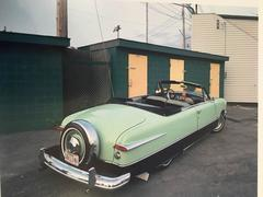 """1951 Ford Custom Convertible, from the series """"Dinosaurs and Dreamboats"""""""