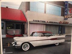 1957 Pontiac Starchief, Elgins Rugs, Binghamton, NY