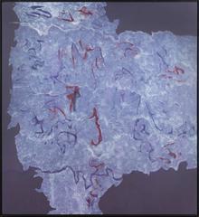 Theodoros Stamos - Infinity Field Jerusalem- Torino Series I no. 2, 1987