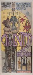 Italian Art Nouveau Period Liquor Poster by Giovanni Mataloni, circa 1900