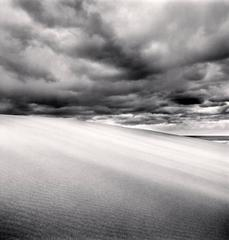 Sand Dunes and Clouds, Tottori, Honshu,Japan