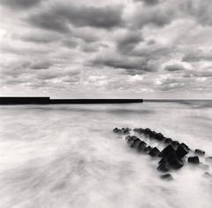 Michael Kenna - Harbor Wall, Aoya, Honshu, Japan