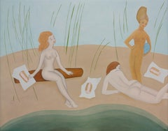 Bathers in the Reeds