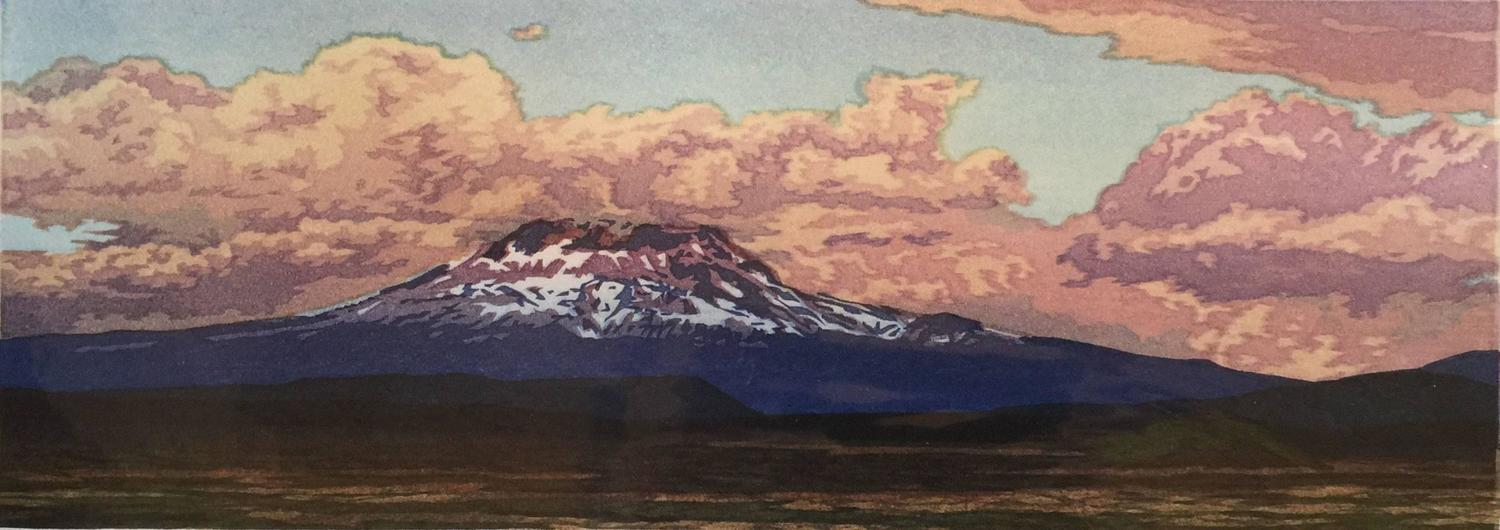Micah Schwaberow - Mount Ranier, Head in the Clouds For Sale at 1stdibs