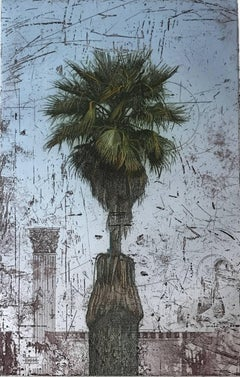 Palm Tree with Column