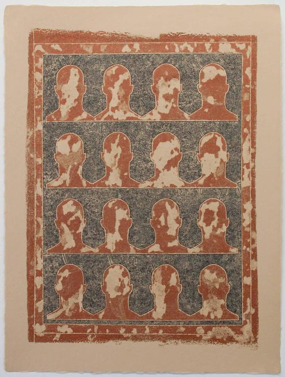 David A. Clark Figurative Print - Ancient Histories #232