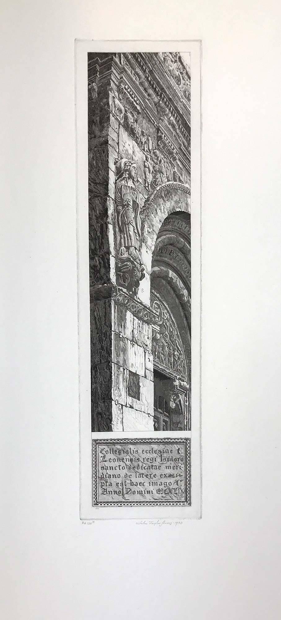 Stone Tapestry, San Isidoro, Leon