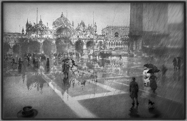 Peter Milton Landscape Print - Basilica Di San Marco