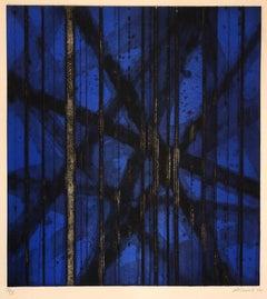 Nuit d'été  IV (Blue variant)